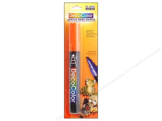 Uchida DecoColor Acrylic Paint Marker Orange