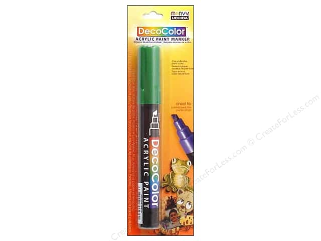 Uchida DecoColor Acrylic Paint Marker Green