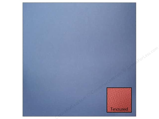 American Crafts 12 x 12 in. Cardstock Textured Denim (25 sheets)