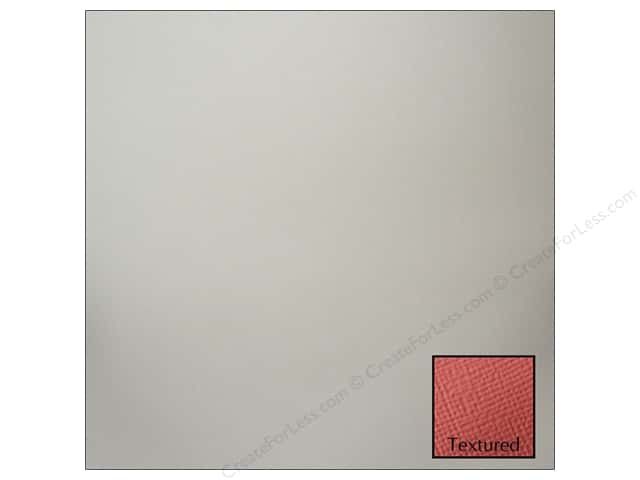 American Crafts 12 x 12 in. Cardstock Textured Stone (25 sheets)