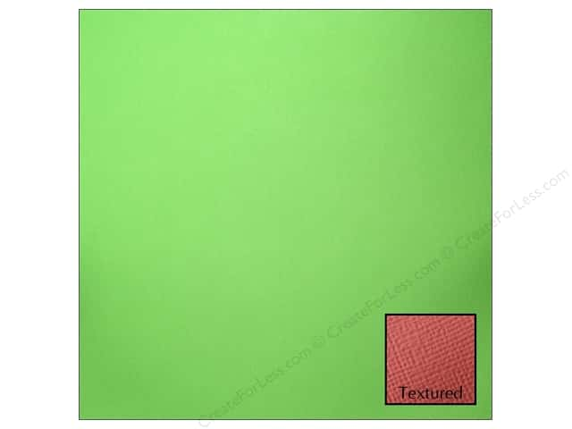 American Crafts 12 x 12 in. Cardstock Textured Grass (25 sheets)