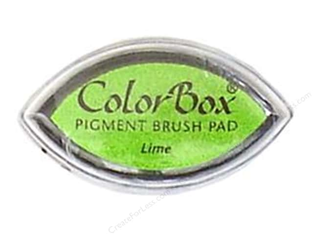 ColorBox Pigment Ink Pad Cat's Eye Lime