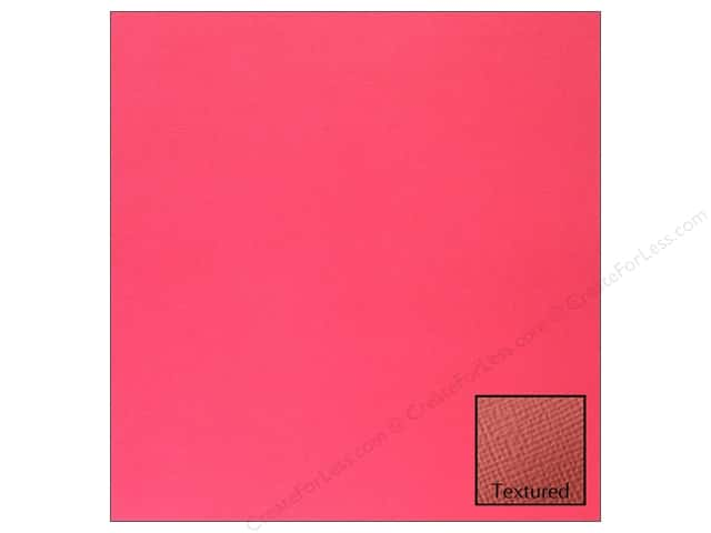 American Crafts 12 x 12 in. Cardstock Textured Taffy (25 sheets)