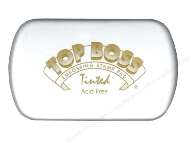 Clearsnap Top Boss Embossing Stamp Pad Full Size Tinted