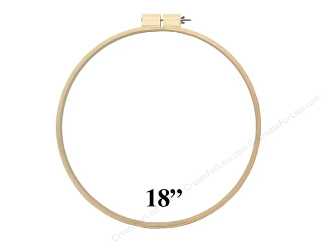 Darice Wood Quilting Hoops 18 in.