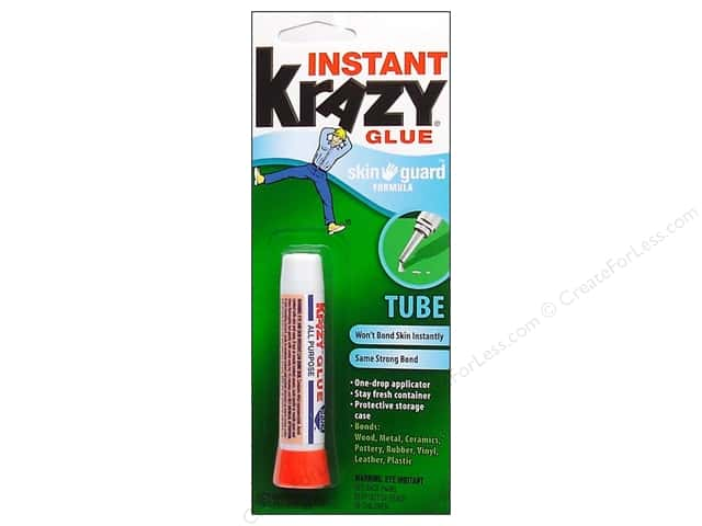 Elmer's Krazy Glue Skinguard Carded 2 gm Tube