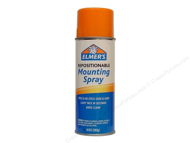 Elmer's Mounting Spray Adhesive 10 oz. Repostionable