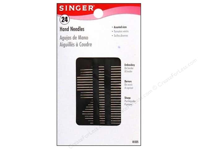 Singer Notions Hand Needle Assorted Size 24pc