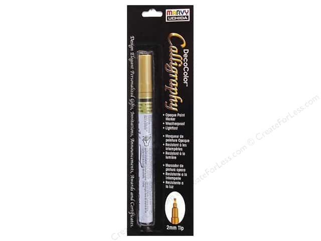 Uchida Calligraphy Paint Marker Metallic Gold