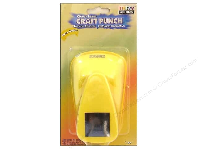 Uchida Clever Lever Extra Jumbo Craft Punch 1 in. Square