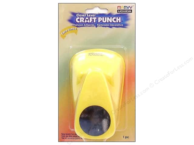 Uchida Clever Lever Extra Jumbo Craft Punch 1 1/2 in. Circle