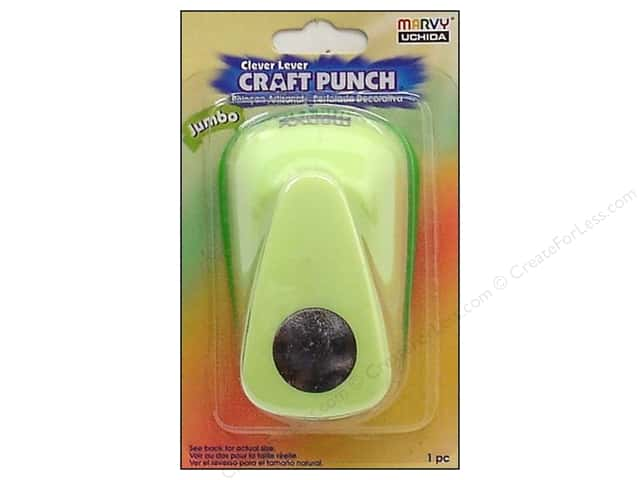 Uchida Clever Lever Jumbo Craft Punch 3/4 in. Circle