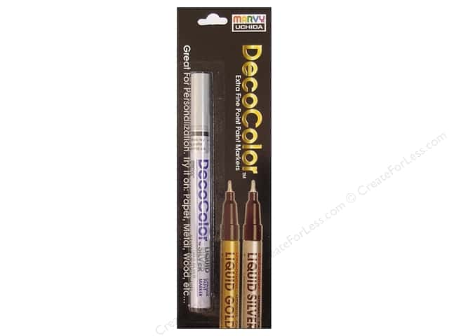 Uchida Metallic Paint Marker Extra Fine Carded Silver