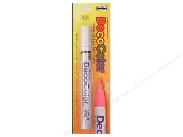 Uchida DecoColor Paint Marker Broad Point White
