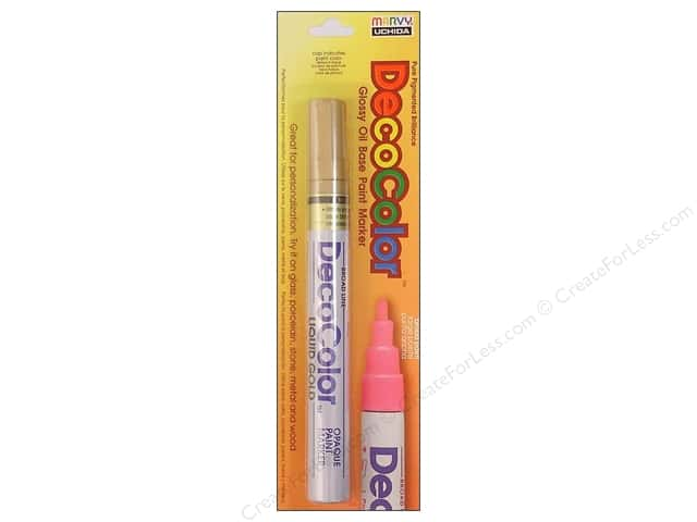 Uchida DecoColor Opaque Paint Marker Broad Point Gold