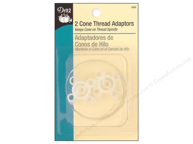 Cone Thread Adaptors by Dritz 2 pc.