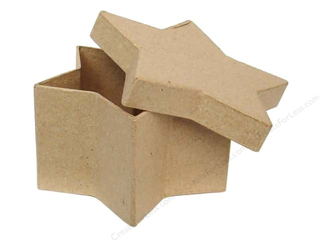 PA Paper Mache Star Box 4 1/2 in. (24 boxes)