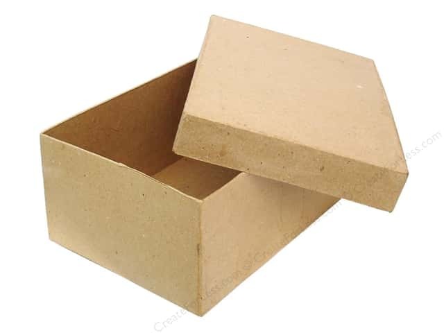 PA Paper Mache Rectangle Box 7 1/2 in.