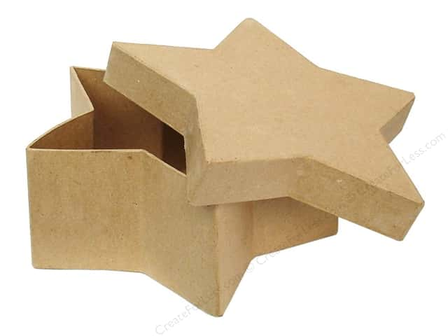 PA Paper Mache Star Box 7 1/2 in. (12 boxes)