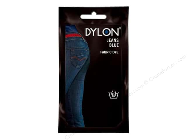 Dylon Permanent Fabric Dye 1.75 oz. Jeans Blue