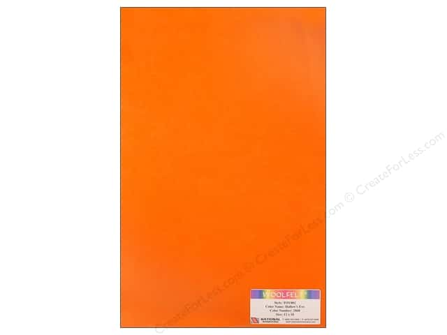 National Nonwovens WoolFelt 12 x 18 in. 35% Hallows Eve (10 sheets)