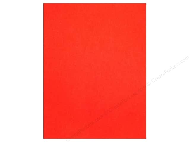 Kunin Stick'rz Stiffened Adhesive Felt 9 x 12 in. Red