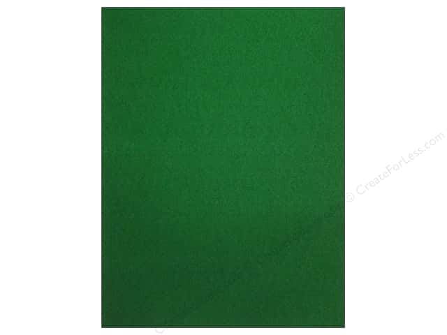 Kunin Stick'rz Stiffened Adhesive Felt 9 x 12 in. Kelly Green