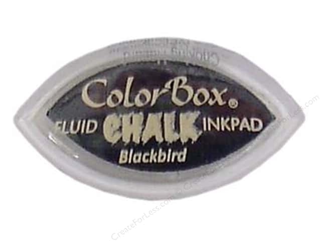 ColorBox Fluid Chalk Ink Pad Cat's Eye Blackbird
