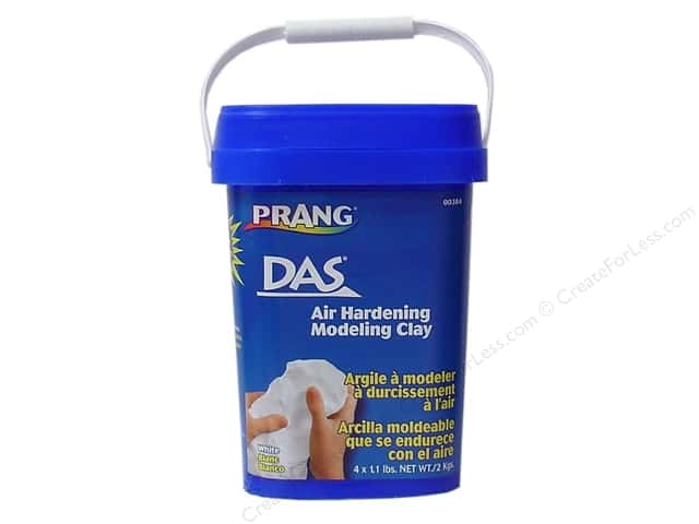 DAS Air-Hardening Clay 4.4 lb. White