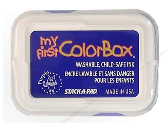 My First ColorBox Dye Ink Pad Purple