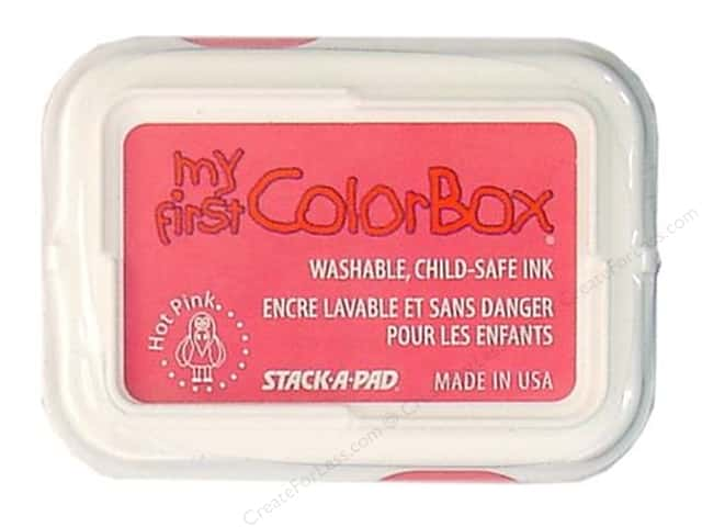 My First ColorBox Dye Ink Pad Hot Pink
