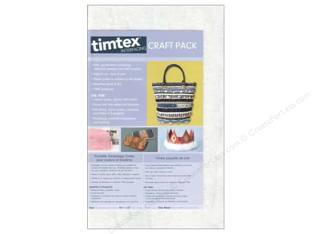 C&T Timtex Interfacing Craft Pack 15 x 18 in.