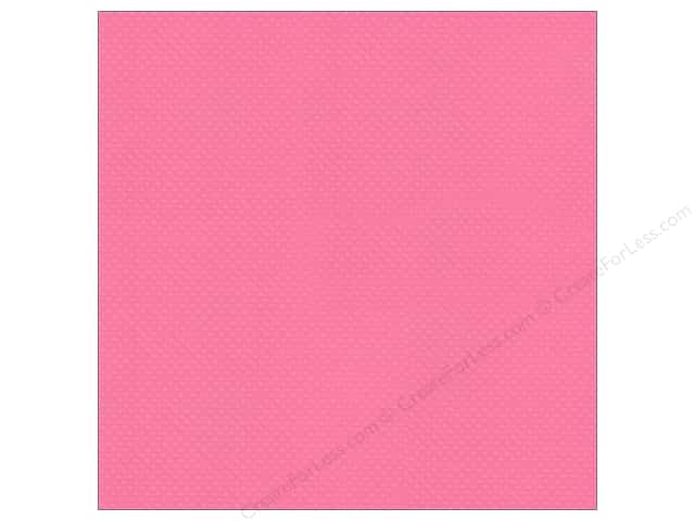 Bazzill 12 x 12 in. Cardstock Dotted Swiss Ballet (25 sheets)