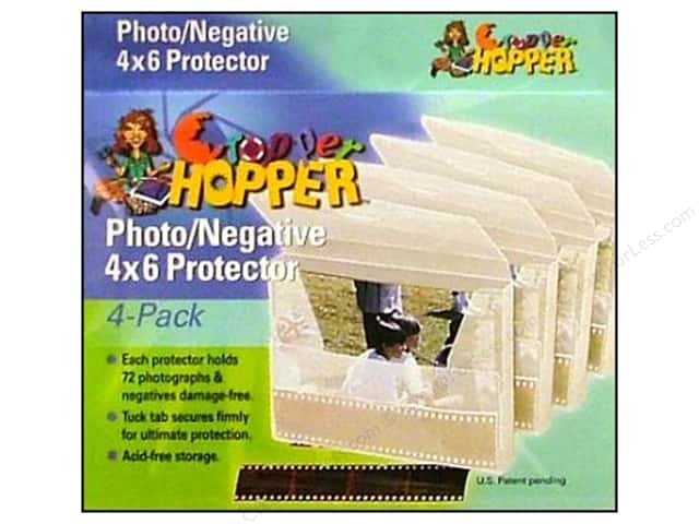 "Cropper Hopper Photo /Negative Protector 4""x 6"" 4pc"