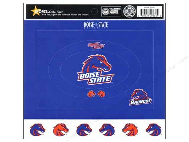 Sports Solution Cardstock Frames Boise State