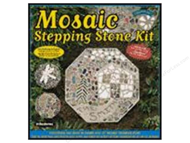 Milestones Stepping Stone Kit 12 in. Octagon Mosaic