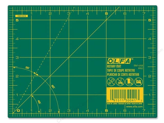 Olfa Cutting Mat 5 1/2 x 7 1/2 in.