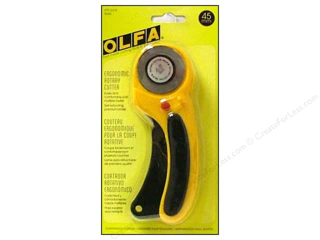 Olfa Rotary Cutter 45 mm Deluxe