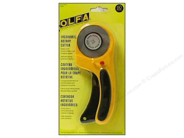 Olfa Rotary Cutter 60 mm Deluxe