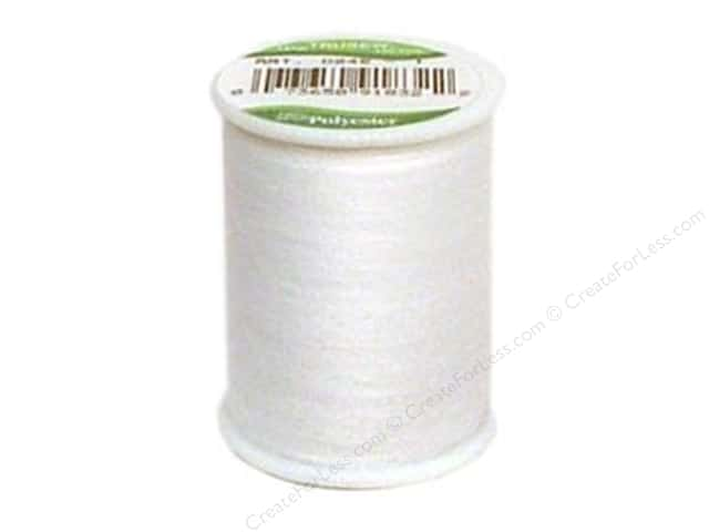 Coat Trusew Polyester Thread 150 yd. White