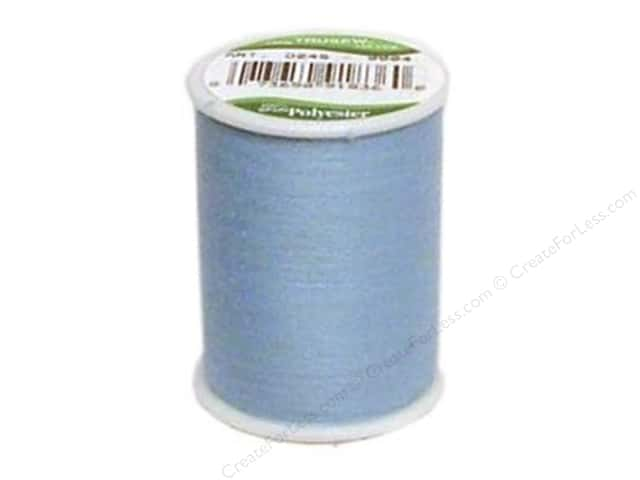 Coat Trusew Polyester Thread 150 yd. Blue (12 spools)