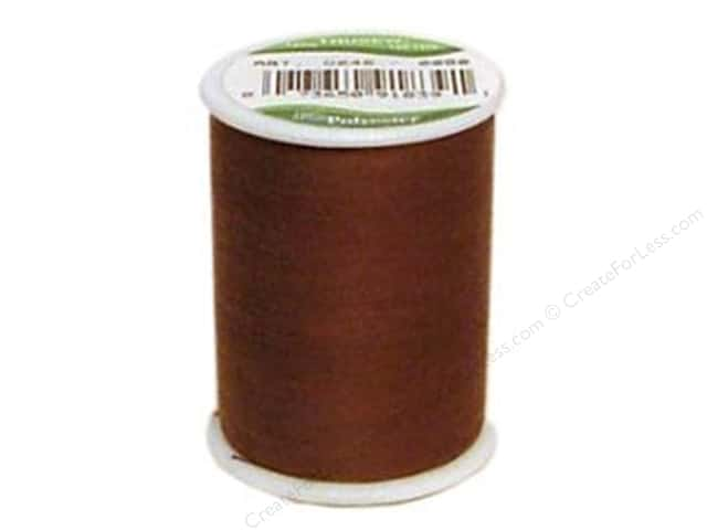 Coat Trusew Polyester Thread 150 yd. Dark Brown (12 spools)
