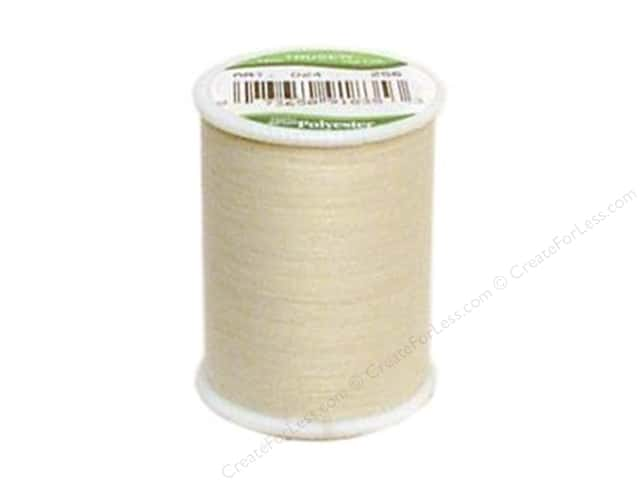 Coat Trusew Polyester Thread 150 yd. Natural (12 spools)