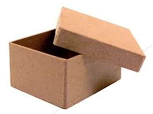 Paper Mache Mini Rectangle Box by Craft Pedlars (36 boxes)