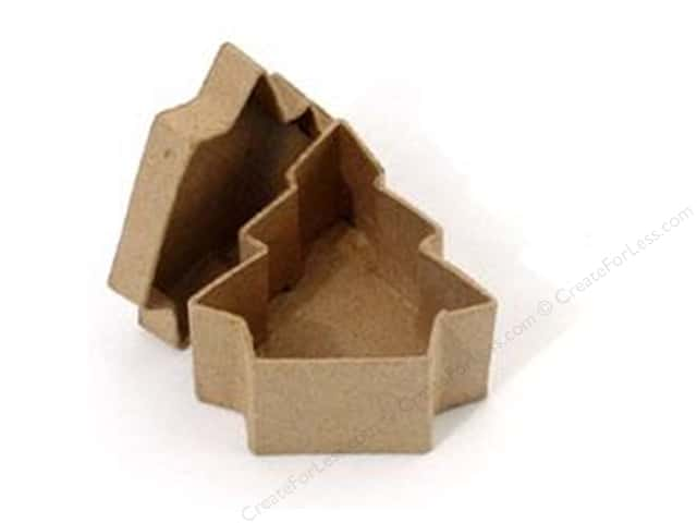 PA Paper Mache Mini Tree Box 3 1/2 in. (36 boxes)