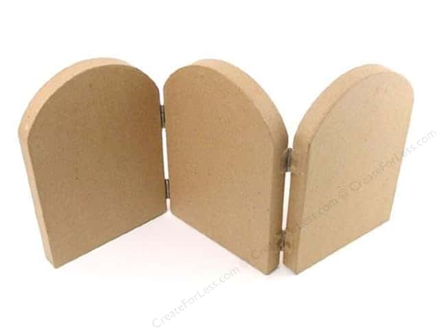 PA Paper Mache Fold Screen Arch Small