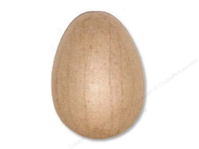 PA Paper Mache Easter Egg Extra Small 3 in.