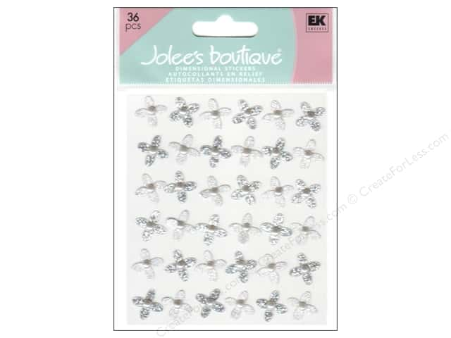 Jolee's Boutique Stickers Wedding Gem Flowers