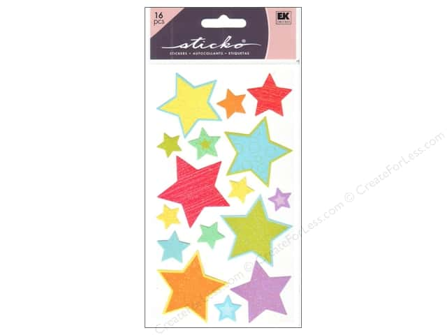 EK Sticko Stickers Primary Stars