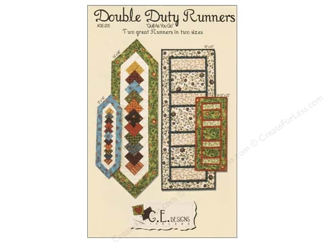 GE Designs Double Duty Runners Pattern